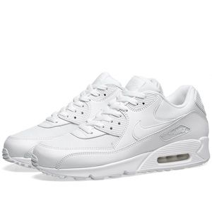 Men's White Nike Air Max 90